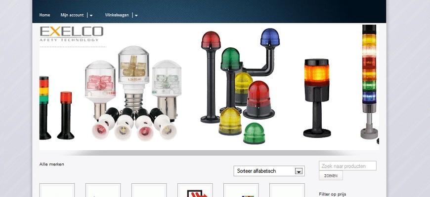 2012 – Inelmatec Webshop