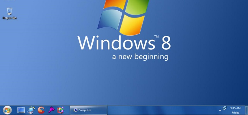 Windows 8 Startknop Instellen