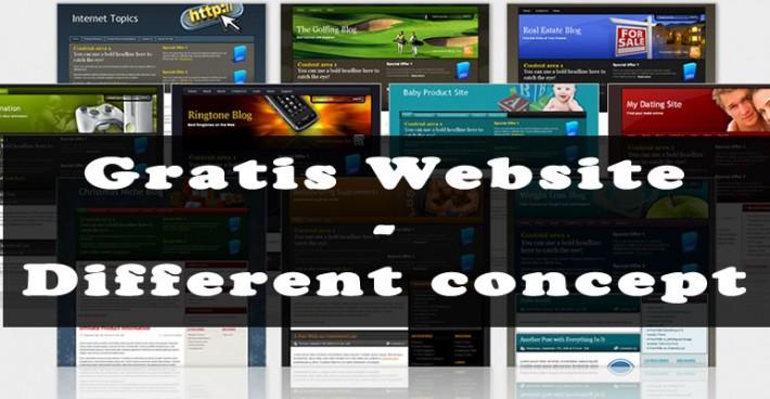 Gratis Website – Nieuw Concept
